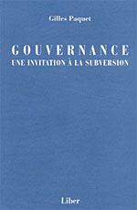 Gouvernance: une invitation à la subversion